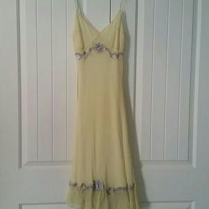 Retro Betsey Johnson silk dress